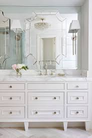 bathroom mirror scratch removal malibu ca youtube: dream master bathroom with custom designed furniture style vanity thick marble countertop and mirror on