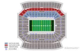 Florida Citrus Bowl Seating Chart Prototypal Seating Chart For Florida Citrus Bowl Stadium
