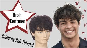 Since october, noah has been rocking a new haircut, ditching his shaggy locks for a tight buzz. Noah Centineo Hair Tutorial Thesalonguy Youtube