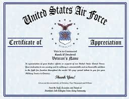 Military Certificate Of Appreciation Template Extraordinary Recognition Template Colbroco
