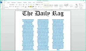 Story Outline Template Online Word Newspaper Article Template Online Sample Blank News