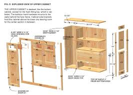 gallery of kitchen cabinet plans pdf new cabinet detail drawing at getdrawings image