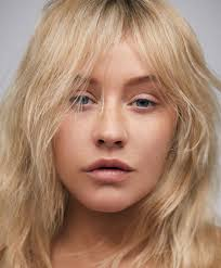 christina aguilera s pared way down beauty for paper magazine march 2018 photo