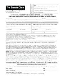 release of medical information template release of confidential information template authorization to