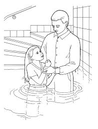 Small Picture Baptism Day Coloring Pages LDS Coloring Home