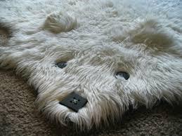 faux ake bear rug faux animal rugs with head