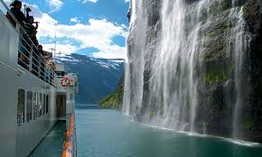 the geirangerfjord in norway