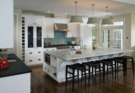 Kitchen Island Dining Table Off White Kitchen Nickel Double Handle Faucet Magnificent Glass