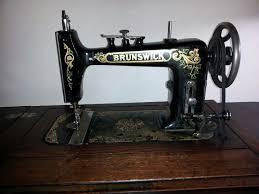 Brunswick Treadle Sewing Machine