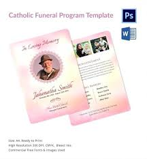 Funeral Leaflet Template