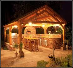 Outdoor Gazebo Lighting Adorable Kitchen Outdoor With Gazebo Lights Zachary Horne Homes Outdoor