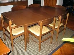 mid century modern dining table and chairs danish modern dining room chairs mid century modern dining
