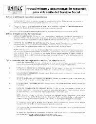 Formato De Hoja De Servicio Formatos De Servicio Social Unitec