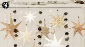 Diy Weihnachtsdeko Selber Machen Origami Stern Faltanleitung Fensterdeko Weihnachten How To