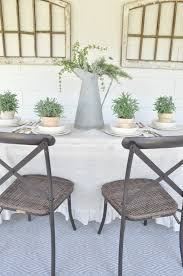 casual outdoor dining space becky s