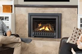 logs clearview front and square trim kit in black