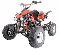 125cc quad bike 4 stroke electric start with reverse