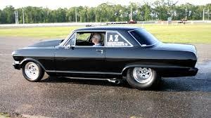 1963 Chevy Nova Burnout - YouTube