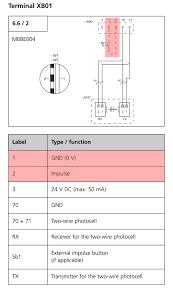 comfort 220 airport doors install garadget community rh community garadget com basic electrical wiring diagrams simple wiring diagrams