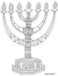 Hanukkah Coloring Page Avaboard