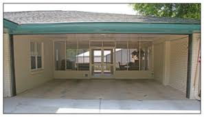many garage door carport openings sag and develop ugly s in the brick veneer above the door opening this problem is almost always caused by an