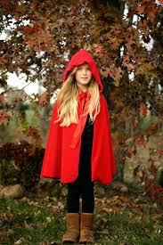 diy red riding hood cloak