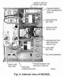 installation technician guides to common heating controls honeywell r8182d internal c honeywell