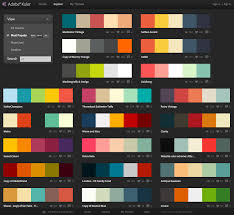 If you're using the desktop version you can export a colour scheme straight  into Photoshop, Illustrator and InDesign.
