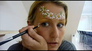 hippy very simple face painting tutorial how to