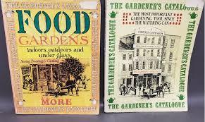 2 vintage the gardener s catalogue 1974 1975