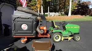 riding mower leaf vacuum.  Riding Intended Riding Mower Leaf Vacuum