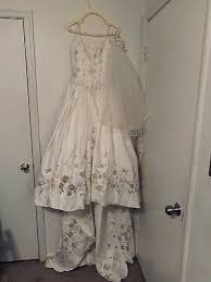 Victorian White Vintage Lace Wedding Dress Bridal Gown
