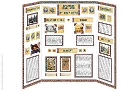 poster for school project american civil war project kit school project printables