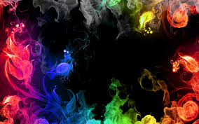 rainbow colors fire wallpapers pictures photos images