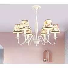 3 6 lights curved arm chandelier with tapered fabric shade lodge style hanging lamp in