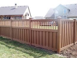 wood picket fence panels decor