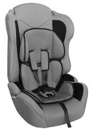 Купить <b>Автокресло</b> детское <b>ZLATEK Atlantic Lux</b>, серый/черный в ...