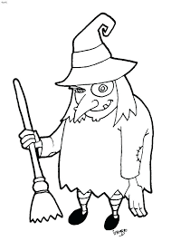 Witches Coloring Pages Witches Coloring Pages Free Coloring Page Of