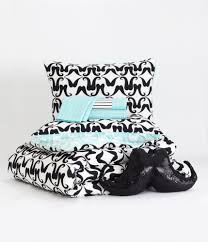 Mustache Bed in a Bag - Aeropostale- Brianne's room