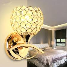 bedside wall lights best modern style bedside wall lamp bedroom stair lighting crystal wall lights led