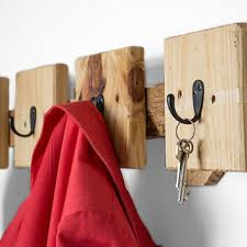 Distressed Wood Coat Rack Best Entryway Key Organizer Products on Wanelo 89