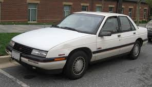 1990 Chevrolet Corsica - Information and photos - ZombieDrive