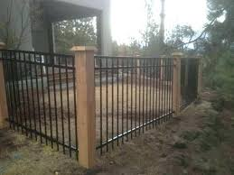 corrugated metal gate metal wood fence metal fence with cedar posts metal vs wooden fence posts