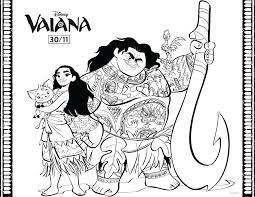 Vaiana Maui Vaiana Et Pua Disney Archives Coloriages Pour Enfants
