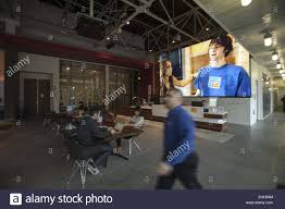 Image Headquarters 19 2013 Los Angeles California ca Usa Liam Collins Head Of Youtube Space La Shows Their Office Space In Playa Vista Alamy Feb 19 2013 Los Angeles California ca Usa Liam Collins