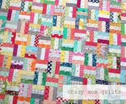 crazy mom quilts: crazy rails quilt-a tutorial & This quilt isn't complicated, by any means, but it's the sheer number of  pieces that makes it challenging. Here is a simple tutorial for you, ... Adamdwight.com