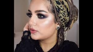 eid arabic smokey eye makeup tutorial