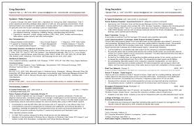 systems engineer sample resumes sample resume gallery career forward