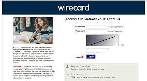 login wirecard na citi prepaid