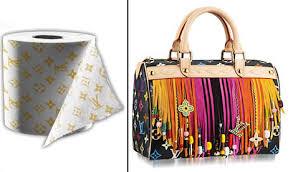 Louis Vuitton Toilet paper bag